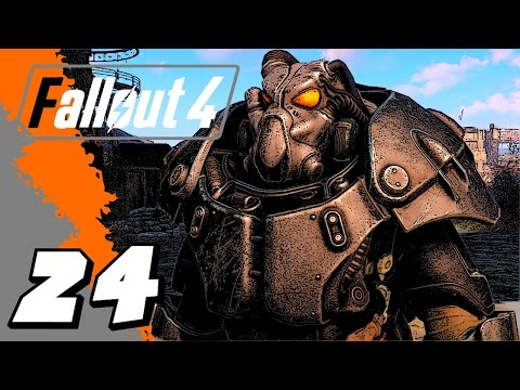 Fallout 4 Gameplay - E24 - FINDING X-01 POWER ARMOR (видео)