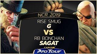 Video RISE Smug (G) vs RB Bonchan (Sagat) - NCR 2019 - Top 16 - CPT 2019 MP3, 3GP, MP4, WEBM, AVI, FLV Juli 2019