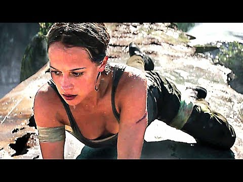 TOMB RAIDER : 8 New Movie Clips !