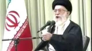 خامنه ای:اگر رژیم سرنگون شود آخوند نابود میشود