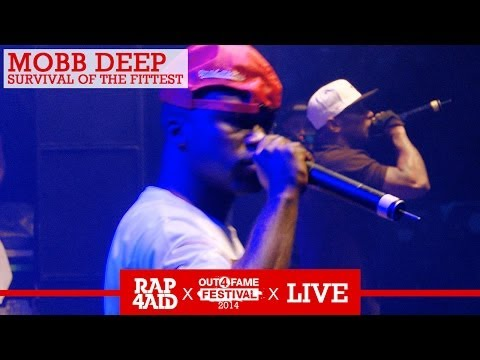 MOBB DEEP - SURVIVAL OF THE FITTEST - LIVE at the Out4Fame Festival 2014 - RAP4AID