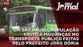 A gestão do prefeito João Dória realizou mudanças no transporte público da cidade. Entre as ações, foram extintas 51 linhas de...