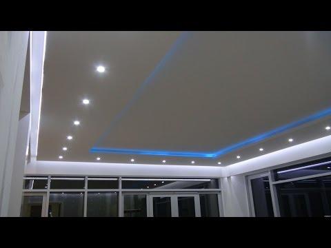 Натяжные потолки фото видео