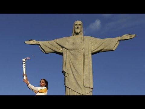 Ρίο 2016: Στο Άγαλμα του Χριστού η Ολυμπιακή Φλόγα