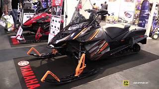 8. 2017 Yamaha SR Viper S-TX DX 146 Sled - Walkaround - 2016 Toronto ATV Show