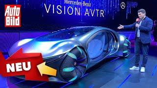 Mercedes Vision AVTR (2020): Concept Car - Konzept - Avatar by Auto Bild