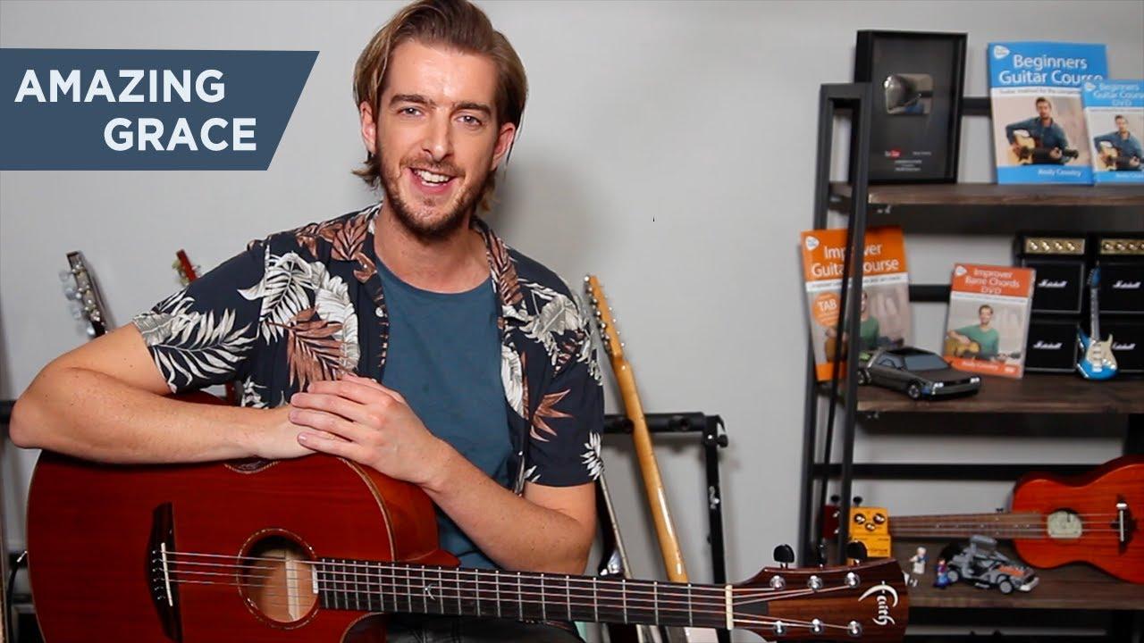 Amazing Grace – EASY Guitar Lesson – Fingerstyle Guitar Tutorial