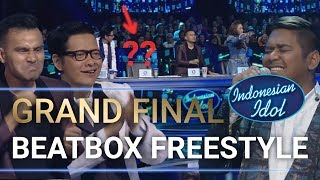 Video Heboh! Abdul Freestyle Dapat Standing Ovation Dari Juri - Grand Final Indonesian Idol 2018 MP3, 3GP, MP4, WEBM, AVI, FLV Mei 2018
