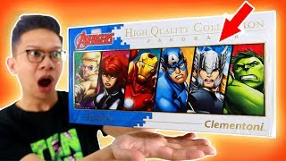 Download Video 1000 PUZZLE AVENGERS KELAR!!! 24JAM CHALLENGE!!! MP3 3GP MP4