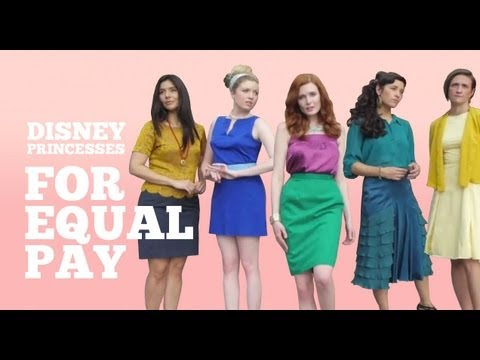 equal - Disney Princesses believe in equal pay for all humans (and mermaids). Subscribe for more videos and please share with your friends! http://www.youtube.com/us...
