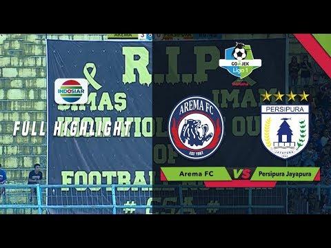 Download Video Arema FC (3) Vs (1) Persipura Jayapura - Full Highlight | Go-Jek Liga 1 Bersama Bukalapak