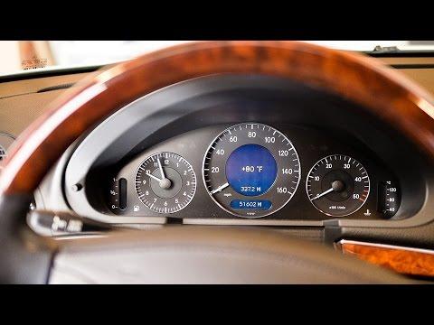 Check Oil Level - 2006 Mercedes E-Class (W211) (видео)