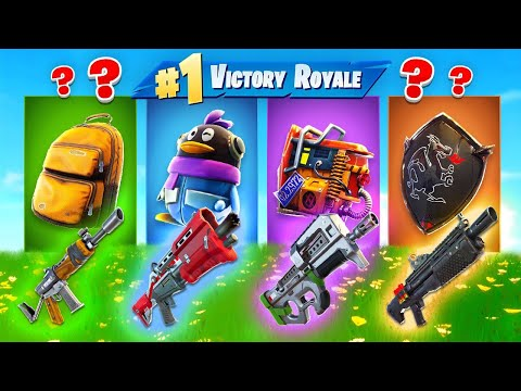 The *RANDOM* Back Bling Skin CHALLENGE In Fortnite Battle Royale!