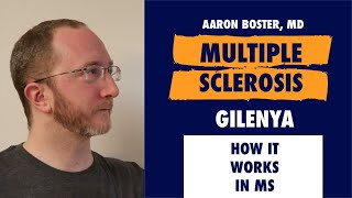 How Gilenya (Fingolimod) works in treating Multiple Sclerosis