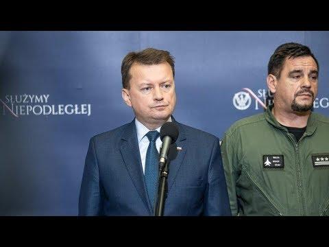 Szef MON o katastrofie wojskowego MiG-29
