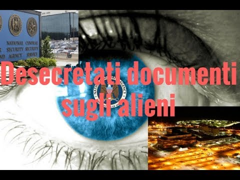 desecretati documenti sugli alieni della national security agency
