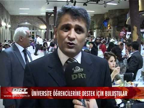 ÜNİVERSİTE ÖĞRENCİLERİNE DESTEK İÇİN BULUŞTULAR DRT TV