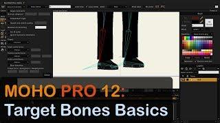 Moho – Target Bone Rigging video tutorial