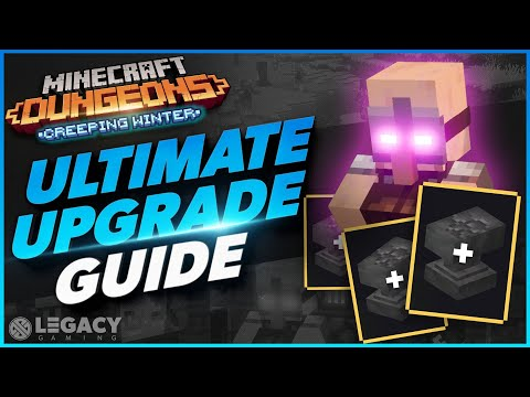 Ultimate Item Upgrade Guide | The FASTEST And BEST Way To Upgrade Items | Minecraft Dungeons