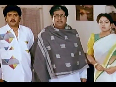 Bhale Bullodu Movie Scenes - Soundarya questions Jagapathi Babu for Chinna - Soundarya, Jayasudha