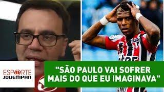 Comentarista Mauro Beting, da Rádio Jovem Pan, analisou o mau momento do São Paulo no Campeonato Brasileiro. Time tricolor está na zona de ...