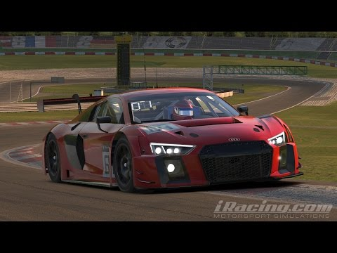iRacing Audi R8 LMS GT3 Nurburgring GP Track Onboard + Replay