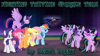 Fighting Twivine Sparkle Team
