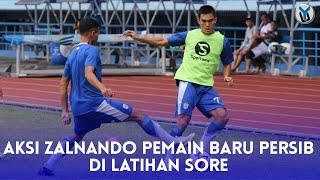 Video AKSI ZALNANDO, PEMAIN BARU PERSIB DI LATIHAN SORE MP3, 3GP, MP4, WEBM, AVI, FLV Januari 2019