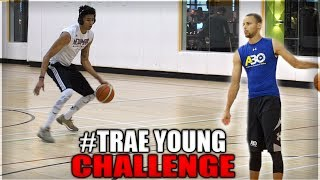 STEPH CURRY/TRAE YOUNG CHALLENGE! Why I'm The Best Shooting YouTuber EVER! 🔥