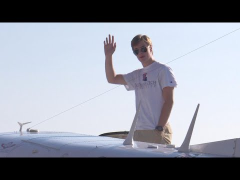 Louisiana Teen Becomes Youngest Pilot to Circumnavigate the Globe Solo