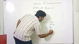 1 1 INTRODUCTION TO UNITS AND DIMENSIONS PART-I