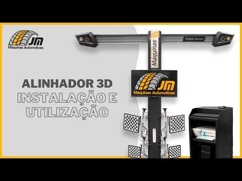 Alinhador 3D - Montagem e Utilização