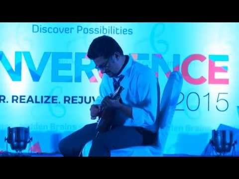 Hidden Brains Convergence 2015 – Tarak Creates Magic with Mandolin (Part 1)