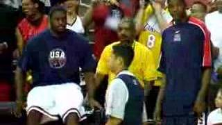 Kevin Durant plays a joke on Lebron James