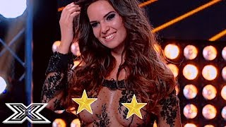 ▶︎We Weren't Expecting That...O.M.G!▶︎X Factor Romania contestant gives judges an eye full!X Factor Global brings together the very best acts from around the world, keeping you up to date and ensuring that you never miss a thing! Subscribe to X Factor Global: https://www.youtube.com/user/xfactorglobalWatch more X Factor Global videos: https://www.youtube.com/user/xfactorglobal/videos