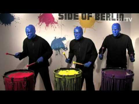 Die BLUE MAN GROUP bei Madame Tussauds