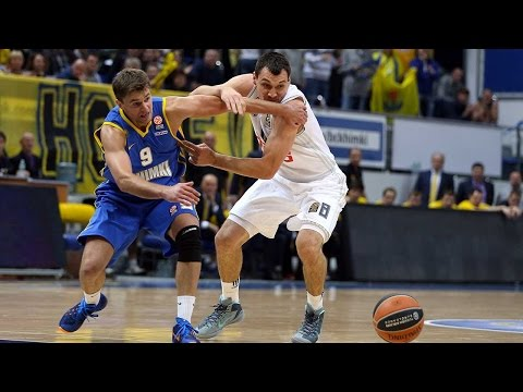 Highlights: RS Round 1, Khimki Moscow Region 84-70 Real Madrid