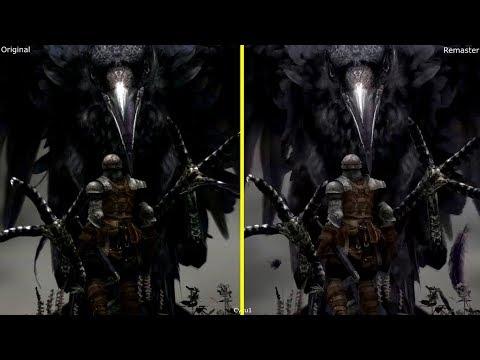 Dark Souls Remastered Nintendo Switch vs PS3 Original Early Graphics Comparison