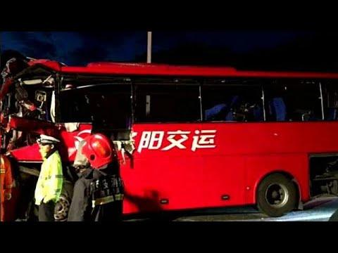 Κίνα: Θανατηφόρο τροχαίο με 36 νεκρούς