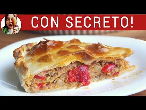 Cómo hacer tarta de atún PASO A PASO (Receta tipo empanada gallega)