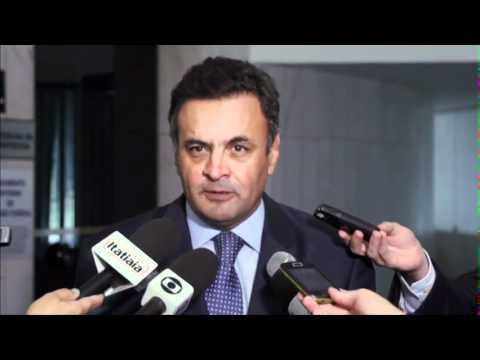 Aécio Neves: Descaso com a segurança pública