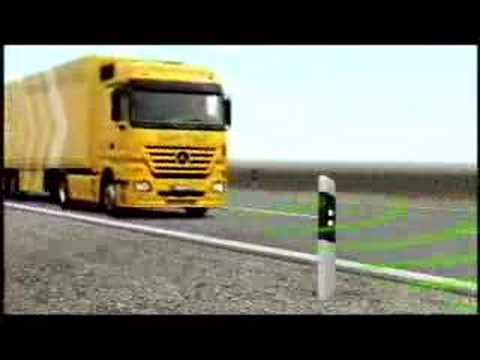 Грузовики Mercedes-Benz Safety Truck Actros