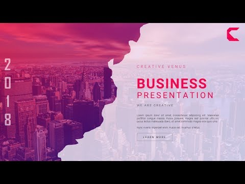 How To Design A Super Creative & Unique Business Slide In Microsoft Office 365 PowerPoint PPT Mp3