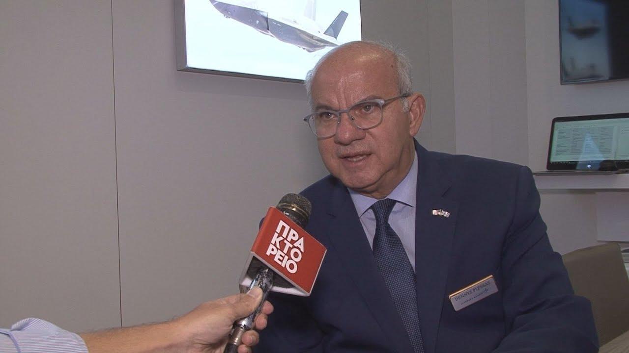 Ο Ντένης Πλέσσας, εκπρόσωπος της εταιρίας Lockheed Martin στην Ελλάδα στο ΑΠΕ-ΜΠΕ