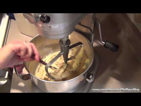 How to make Chocolate Chip Cookies using the Kitchenaid Stand Mixer