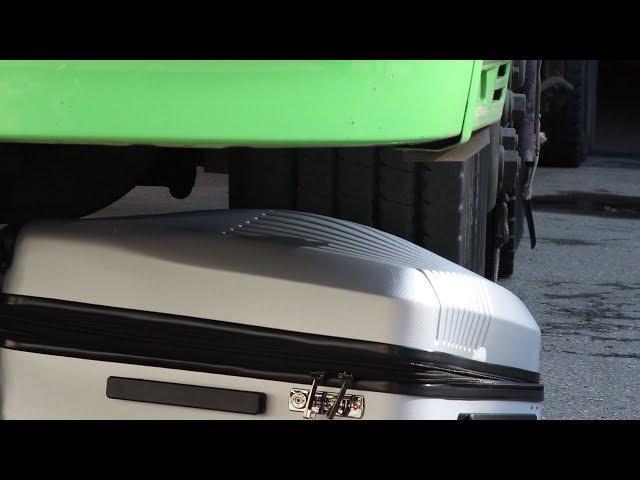 卡車輾壓行李箱 奧莉薇閣Allez Voyager 無懈可擊系列