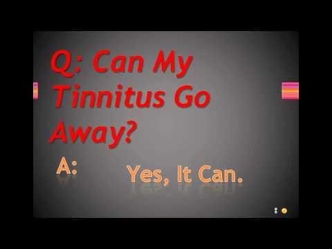 Can My Tinnitus Go Away?