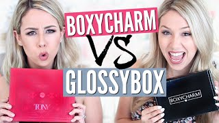 UNBOXING: Boxycharm VS Glossybox - June | eleventhgorgeous by Eleventh Gorgeous