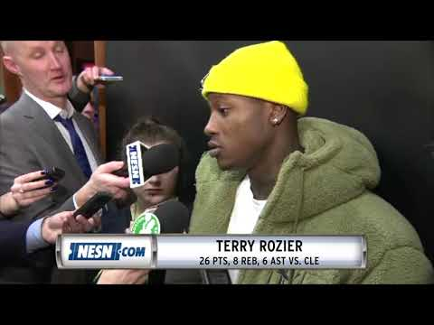 Video: Terry Rozier Reacts To Celtics' Win Over Cavaliers