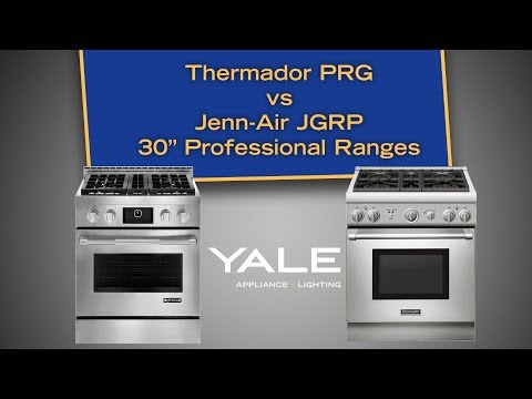 The Best 30-inch Pro Gas Ranges: Jenn-Air JGRP430WP vs Thermador PRG304GH